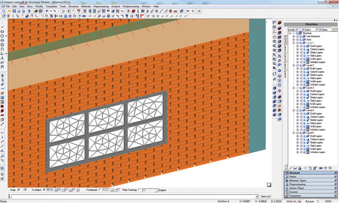 Model Brick Masonry