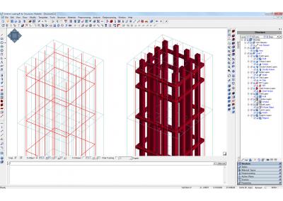 Enhanced Modeling of Steel Bars
